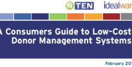 A Consumers Guide to Low-Cost Donor Management Systems