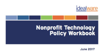 Nonprofit Technology Policy Workbook