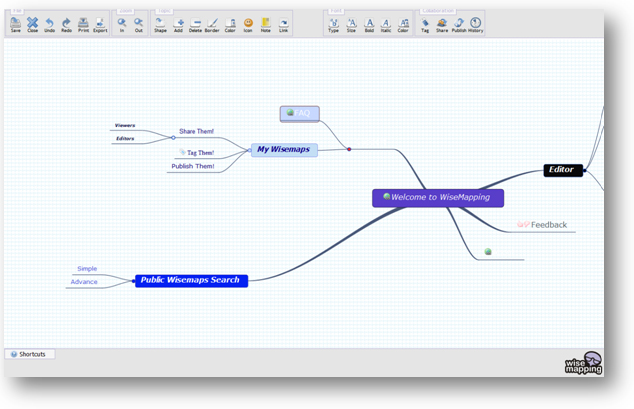 this web based mind mapping tool leverages a combination of web 20 and customization features that can provide seamless visual collaboration among members - Web Based Mind Mapping Free